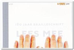 Nederland 2013, Postfris MNH, NVPH PB23, Braille - Postzegelboekjes En Roltandingzegels