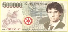 500000 Lire - CinCentmila - Pseudo Banconota Della Banca Nord Nazione - Gadget Politico - Lega Nord Bossi Umberto - Italia