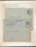 BELGIUM BELGIQUE HOUYOUX LETTRES TARIF IMPRIMES - 1922-1927 Houyoux