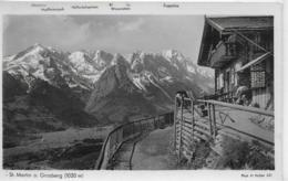 AK 0162  Bergwirtschaft St. Martin Am Grasberg - Verlag Huber Um 1950 - Garmisch-Partenkirchen