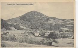 AK 0162  Gaisberg Mit Zahnschienenbahn - Verlag Pflauder Um 1911 - Salzburg Stadt