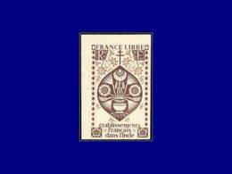 INDE FRANCAISE Poste ** - 229, Non Dentelé, Sans Indication De La Valeur: (3r) Brun France Libre (Maury) - Cote: 600 - India (1892-1954)