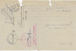 1946 - PRISONNIERS DE GUERRE - LETTRE Du DEPOT N°213 à SARREBOURG (MOSELLE) => SARREGUEMINES - Marcophilie (Lettres)