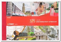 Nederland 2011, Postfris MNH, NVPH PB33, 375 Years Of Utrecht University - Postzegelboekjes En Roltandingzegels