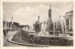 BRUXELLES - Exposition 1935 - Vue D'ensemble - Expositions