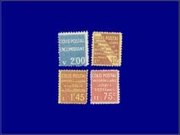 FRANCE Colis Postaux * - 95/6 + 98 + 100: 4 Valeurs - Cote: 130 - Parcel Post