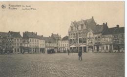 Roeselare - Roulers - Rousselare - De Markt - La Grand'Place - Uitg. Deraerdt-Verhoye - 1926 - Roeselare
