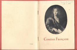 """Programme COMEDIE FRANCAISE """" CYRANO DE BERGERAC"""" 1941 - Années De Guerre MARIE BELL M.DALMES-F.LEDOUX-L.SEIGNER-J.L.BAR - Programmes"""