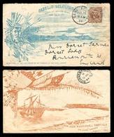 USA. 1894. (Jul 26) San Diego / CA To U.  Ilustated Frkd. Cover Of The CABRILLO CELEBRATION / 450 Anivers.of Arrival At - Non Classificati