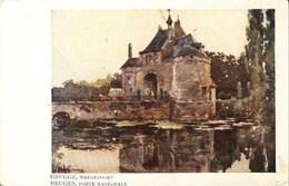 BRUGES-BRUGGE - Porte Maréchale - Smedepoort - Peinture De Jessie Currie - Uitgever : F. Verbeke, Pieterskaai, Brugge - Brugge