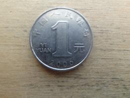 Chine  1  Yuan  2000  Km 1212 - Chine