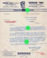 ALLIS CHALMERS 1932 PARIS  Transmission TEXROPE - France