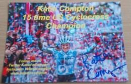 Cyclisme , KATIE COMPTON 2018 - 2019 - Ciclismo