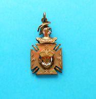 SERBIA KINGDOM ... KARADJORDJE 1804.( The First Serbian Uprising ) - Original Vintage Enamel Medal RRR - Before 1871