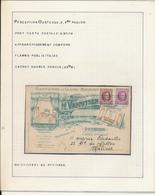 BELGIUM BELGIQUE HOUYOUX JOLIE CARTE A ENTETE SALLE DE VENTE ST JOSEPH OOSTENDE 1932 VERS MALINES TROUS D'ARCHIVE - 1922-1927 Houyoux