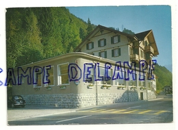 Hôtel Tellsplatte Am Vierwaldstättersee.  Lucerne. Au Verso Note De Restaurant - Vieux Papiers
