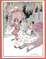 "Programme PALAIS DU TROCADERO - T.N.P. Saison 1930-1931 - ""LA VEUVE JOYEUSE"" Illustr.VICTOR LHOMME - Programmes"