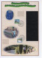 FDC  Du 30/8/2010. Les Routes Cachées De Wallonie - Fietsknooppinten. N° 4054/55. Cote 2018: 8 €. - 2001-10