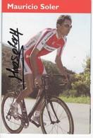MAURICIO  SOLER  SIGNEE  BARLOWORLD - Cyclisme