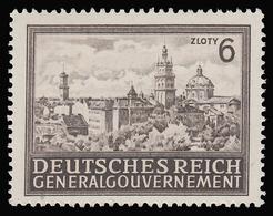 Polonia  - Castelli: 6 Z. Bruno - 1943 - Governo Generale
