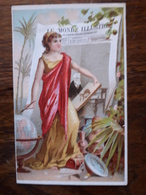 L16/14 Chromo. Journal Le Monde Illustré.Dégustation Du Cacao Van Houten. P.Torret. Lyon. Confiseur , Patissier - Trade Cards