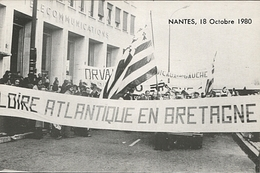 Carte Pétition 1980 Loire Atlantique En Bretagne à Adresser à L'Elysée - Evènements