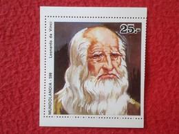 SPAIN ANTIGUO CROMO RARE OLD COLLECTIBLE CARD MUNDOLANDIA IMAGEN DE LEONARDO DA VINCI ITALIA ITALY VER FOTOS. ESCASO - Cromos