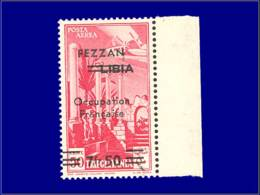 FEZZAN Poste Aérienne * - 2, Bdf: 7.50/50c. Rose - Cote: 150 - Fezzan (1943-1951)