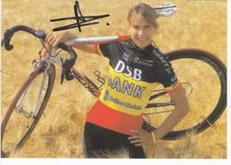 LUDIVINE  HENRION    SIGNEE  CHAMPIONNE DE BELGIQUE - Cyclisme