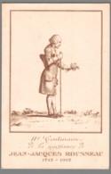 CPA - 2ème Centenaire De La Naissance De Jean Jacques Rousseau - Ecrivains