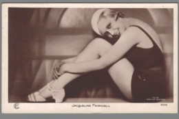 CPA - Jacqueline Francell - Célébrités