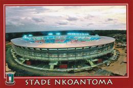 CARTE DE STADE DE. BATA   GUINEE EQUATORIALE   STADE NKOANTOMA  #  CSF. 044 - Football