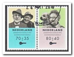 Nederland 1993, Gestempeld USED, NVPH C377 - Postzegelboekjes En Roltandingzegels