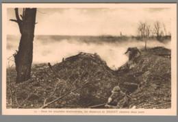 CPA Guerre 14-18 - Dans Les Tranchées Bouleversées, Les Chasseurs De Driant Résistent Deux Jours - Guerre 1914-18