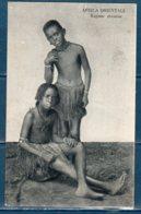 Africa Orientale Ragazze Abissine ...  Viaggiata 1939 - Afrique
