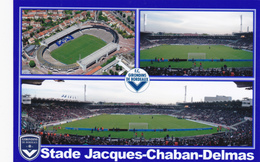 CARTE DE STADE DE. BORDEAUX  FRANCE   STADE JACQUES CHABAN-DELMAS    #  DG. 066 - Football