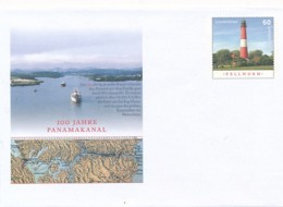 GERMANY Mi. Nr. USo ? - 100 Jahre Panamakanal - Leuchtturm - Siehe Scan - Leuchttürme