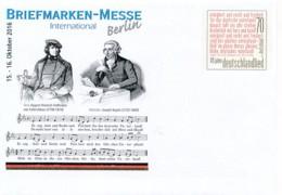 GERMANY Mi. Nr. USo ? - Intern. Briefmarken-Messe Berlin 2016  - Siehe Scan - BRD