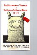 Salies De Bearn (64 Pyrénées Atlantiques) Calendrier 1938  (PPP17180) - Petit Format : 1921-40