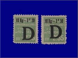 FRANCE Colis Postaux * - 160/61, 2 Valeurs - Cote: 180 - Parcel Post