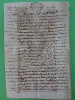 9 Mars 1702 Généralité De Montauban (Tarn-et-Garonne) Important Manuscrit De 7x 2 Sols Soit 14 Sols. - Cachets Généralité