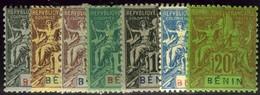 Benin. Sc #33-39. Mint. OG. - Benin (1892-1894)