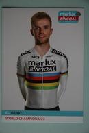 CYCLISME: ELI ISERBYT - Cyclisme