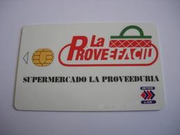 CARTE A PUCE SUPERMERCADO LA PROVEEDURIA - Télécartes