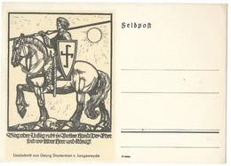 Propaganda  - Dessin De Georg Sluyterman V. Langeweyde  - époque Du NSDAP - Guerre 1939-45
