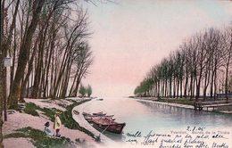 Yverdon, Bords De La Thièle Et Barques (872) - VD Vaud