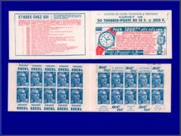 FRANCE Carnets ** - 269, Type I, (S. 15): 15f. Gandon - Cote: 190 - Carnets