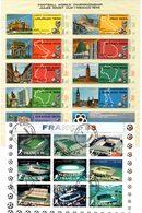 Lot De Timbres Thème Football. - Coupe Du Monde