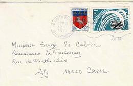 TP N° 2014 Et 1510 Sur Enveloppe De Rouen Bourse - Marcophilie (Lettres)