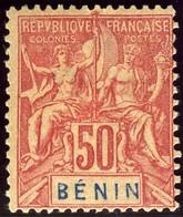 Benin. Sc #43. Unused. - Benin (1892-1894)